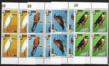 SMT, NIUE,1986, Stampex '86 Adelaide complete set of eight  in blocks of 4, MNH