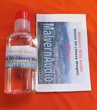 50ml.Bottle of Silicone Fluid for Damping Well Tonearms High Viscosity