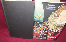 Gloriana's Torch ~ Patricia Finney.  1st US Ed HbDj   HERE in Melb.   Thrilling!