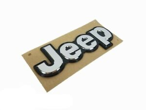 15-17 JEEP RENEGADE LIFTGATE TAILGATE EMBLEM NAMEPLATE BADGE MOPAR GENUINE