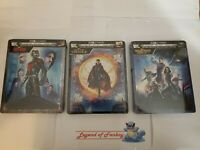 Ant-man, Doctor Strange, Guardians of the Galaxy - Steelbook 4K, BluRay, Digital
