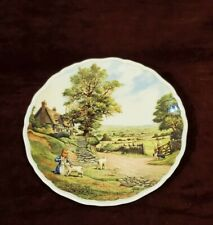 Royal Doulton England 1993 Collector Plate Village Life by Anthony Forster
