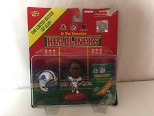 Barry Sanders NFL Headlinders Action Figures Detroit Lions 1998 Football