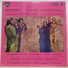 Le Petit Ensemble Vocal HOLBORNE/PRAETORIUS/BYRD Ace of Diamonds SDD 2159 SEALED