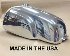 Cafe Racer Gas Tank, Manx TT,  Aluminum Alloy,Triumph Bonneville, Thruxton EFI