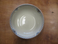 "Noritake Stoneware SEDONA 8481 Soup Cereal Bowl 6 1/2"" Brown Blue 1 ea"
