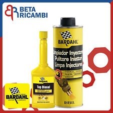 Kit additivo Bardahl pulizia iniettori gasolio Top Diesel + Pulitore Iniettori
