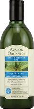 Bath & Shower Gel, Avalon Organics, 12 oz Peppermint