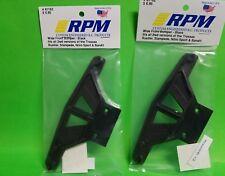 2 X RPM WIDE FRONT BUMPER TRAXXAS STAMPEDE RUSTLER BANDIT VXL XL-5 2WD 81162
