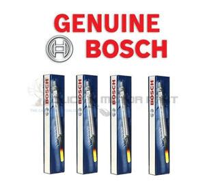 Ford Kuga S-Max Mondeo Mk4 Mk5 TDCi 4 x Bosch Diesel Heater Glow Plugs New Set