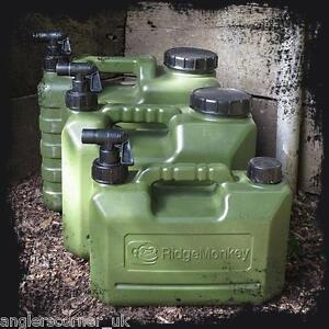 RidgeMonkey Schwerlast Wasser Träger 5ltr 10ltr 15ltr Ridge Affe Karpfenangeln