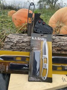 Kabar Dozier Neck knife With Horizontal carry sheath (Knife Included )