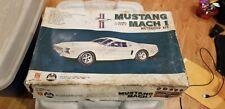 Mustang Mach 1 1:20 Scale Model Car Kit Nakamura RARE NRFB Brand New