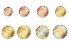 Set / Lot 8 pièces euro Estonie, série complète, UNC, du rouleau