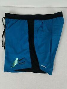 Nike Flex Stride Future Fast 2 in 1 Running Shorts Mens M Multi-Color CU5473-301