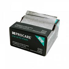 Procare Embossed Pop-Up Foil 130mm x 280mm (500)