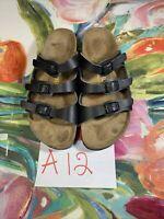 Birkenstock Black Sandals Size 8