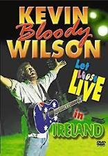 Kevin Bloody Wilson Let Loose Live In Ireland Region 4 PAL DVD VGC