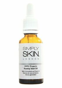 * Rosehip Oil 100% Organic, Cold Pressed Oil, Best Known Facial Oil! 30 ml !!