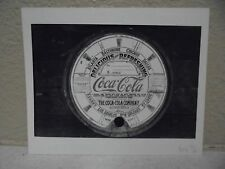 Vintage COCA-COLA PHOTO from COLA CALL Top of a Vintage Coca Cola Barrel