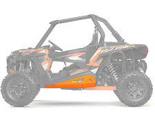 Pure Polaris Spectra Orange Low Profile Rock Sliders RZR1000 RZR900 S XC Turbo