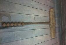 Vintage  beam drill decorative piece