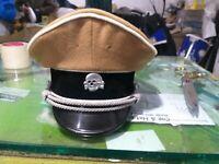 WW2 german SS hat in light brown wool