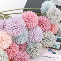 1/5PCS  Artificial Silk Flower DIY Chrysanthemum Ball Home Wedding Decor Hotel