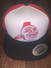 Atlanta Braves Chief Nok A Homa Trucker Hat Custom