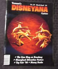 1998 Tomart's DISNEYANA Update Magazine VF+ #23 Lion King on Broadway Banks
