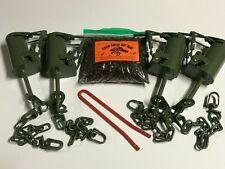 4 Fps Dp Dog Proof raccoon Traps, 1 Dp setter &1 Coon Gitter Bait New Sale kit