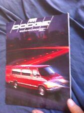 1991 Dodge Ram Wagon Van and Conversion Dodge Motorhome Brochure Prospekt