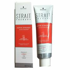 Schwarzkopf Strait Therapy 1 One Straightener Cream Normal Hair Straight Shine