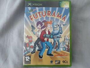 Futurama (Microsoft Xbox, 2003) Tested UK Complete WORLDWIDE FREE SHIPPING