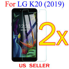 2x Clear LCD Screen Protector Guard Cover Film For LG K20  (2019)