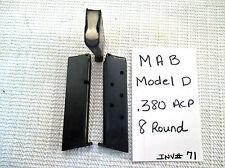 1 MAB Model D Mag Magazine .380 Acp 8 Rd (inv#71)