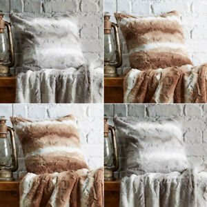 Bellissimo Faux Fur Cushion Cover, 45 x 45 Cm