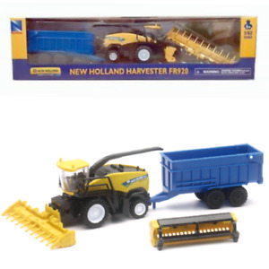 Kids Combine Harvester Toy Farm Play Set New Holland 1:62 scale