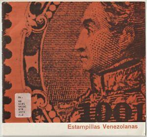 Venezuela, ESTAMPILLAS VENEZOLANAS, philately, postal history, 1971