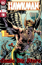 HAWKMAN #1 (2018) 1ST PRINTING DARK NIGHTS METAL TIE-IN DC COMIC UNIVERSE