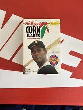 Roberto Clemente Corn Flakes Cereal Box BRAND NEW Rare
