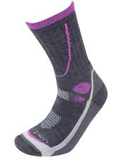 Lorpen Women's T3 Midweight Hiker Socks, Charcoal, Small
