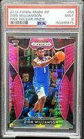 2019 Prizm PINK PULSAR REFRACTOR Rookie ZION WILLIAMSON Card PSA 9 MINT Low Pop