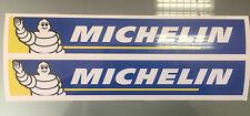 Michelin Logo Stickers / Decals for Bike Swingarm X2 (200mm x 33mm)