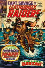 Capt. Savage and His Leatherneck Raiders #1 GD; Marvel | low grade comic - save