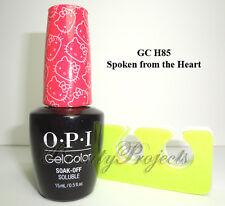 OPI GelColor Spoken from the Heart GC H85 Soak Off LED/UV Gel .5oz +BONUS ITEM!