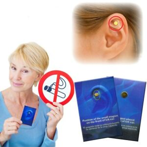 Quit Stop Smoking Ear Magnet Cigarettes Magnetic ear Acupressure Zero Smoke