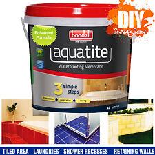 AquaTite 4 Litre Flexible Waterproofing Membrane Waterproof Liquid Rubber