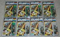 Lot 1986 GI Joe Cobra BATS v1 Figures File Card Backs Complete Army Builder Set