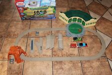 Thomas and friends Tidhouse shed motorized trackmaster set with box rare!